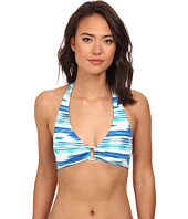 LAUREN Ralph Lauren - Bali Stripe Ring Halter Top