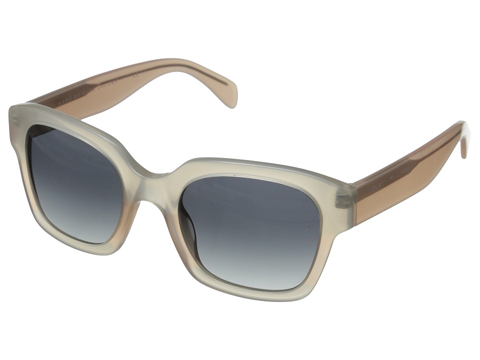 Marc by Marc Jacobs MMJ 457/S Opal Rose Pink/Gray Gradient Metal Frame Fashion Sunglasses