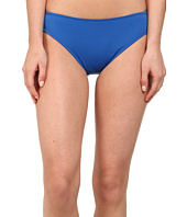 LAUREN by Ralph Lauren - Laguna Solids Hipster Bottom w/ Logo Plate