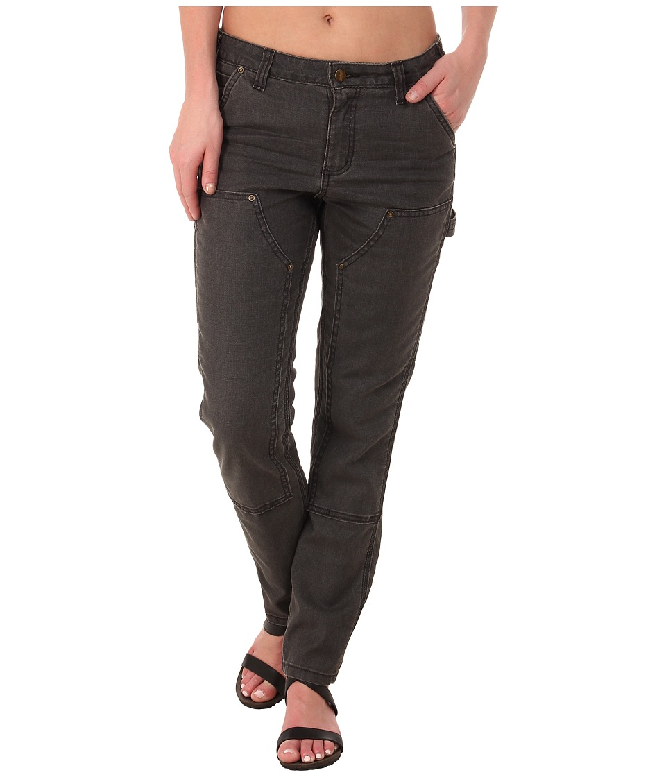 Carhartt Slim Fit Double-Front Canvas Dungaree Jeans (Shadow) Women