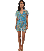 LAUREN Ralph Lauren - Maldives Paisley Poolside Tunic Cover-Up