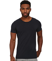 Scotch & Soda - Polka Dot High Crew Neck Tee