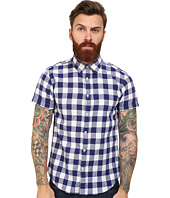 Scotch & Soda - Short Sleeve Linen Check Shirt