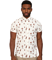 Scotch & Soda - Short Sleeve Printed Poplin Shirt