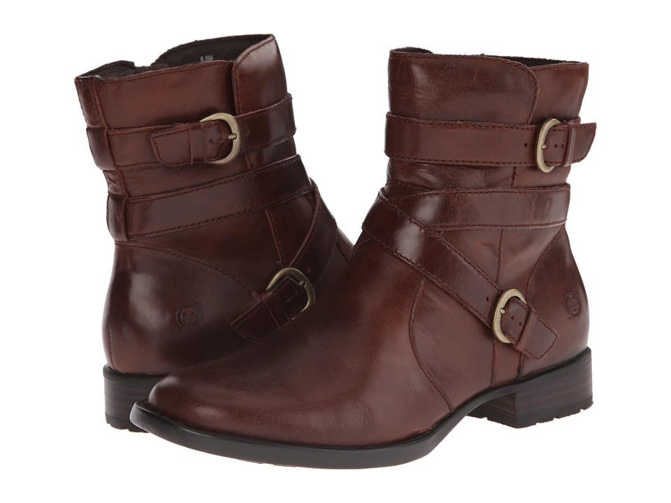 Born - McMillan (Dark Tan Full Grain Leather) Women