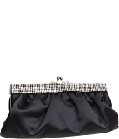 Franchi Handbags - Linette Crystal Framed Clutch