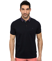 Ted Baker - Gabes Short Sleeve Woven Collar Polo