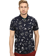 Ted Baker - Format Short Sleeve Jungle Printed Polo
