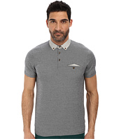 Ted Baker - Jesscat Short Sleeve Woven Collar Polo