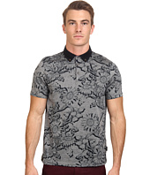 Ted Baker - Athias Short Sleeve Floral Printed Polo