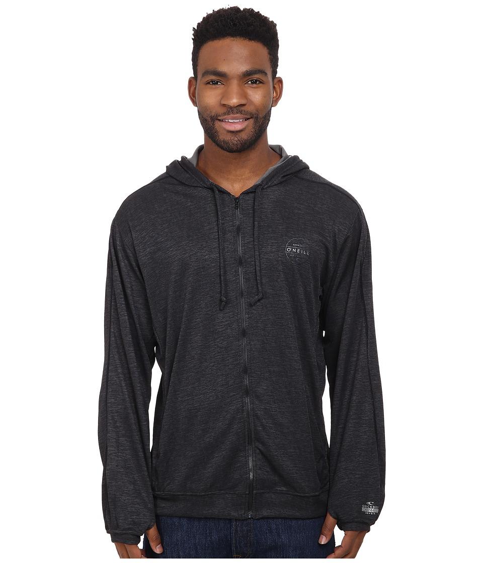 ONeill 24 7 X Long Sleeve Hoodie Black Mens Sweatshirt