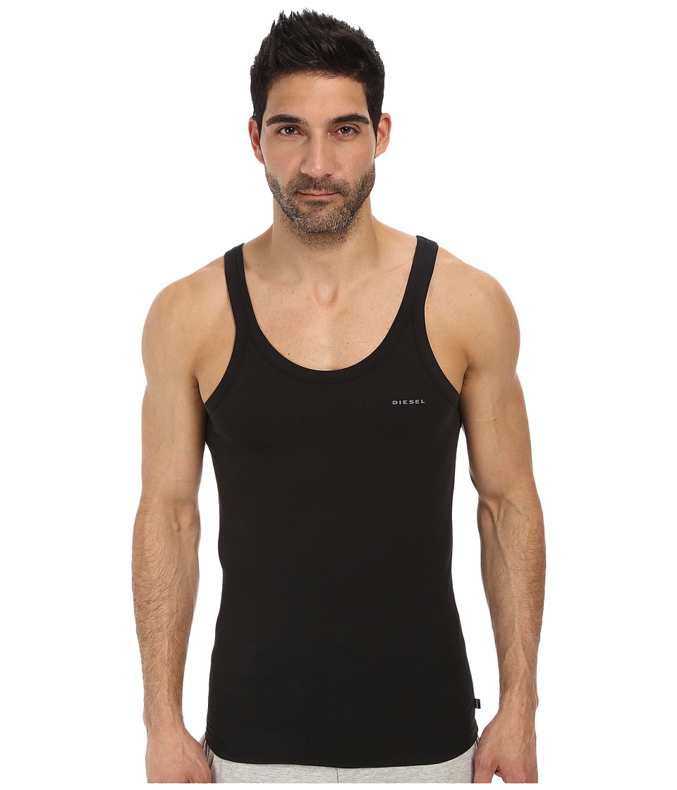 Diesel Bale Singlet BAHF Black Mens Sleeveless