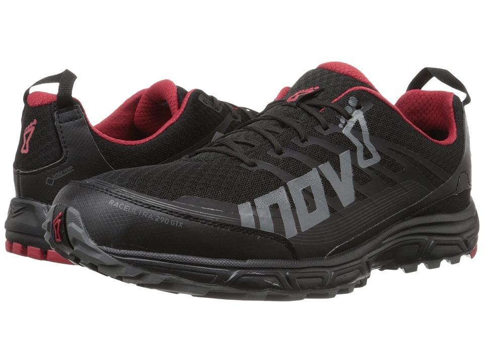 inov-8 - Race Ultra 290 GTX (Black/Grey/Chili) Mens Running Shoes