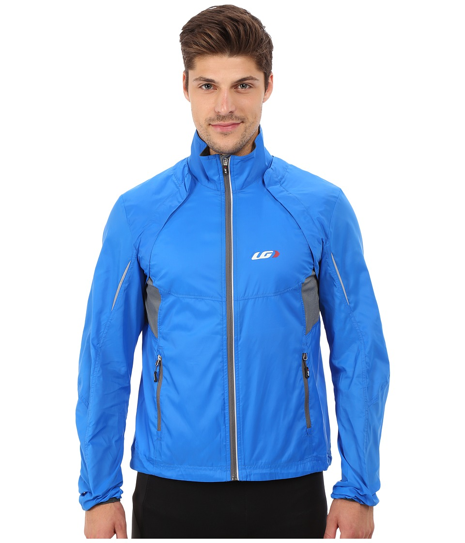 Louis Garneau Cabriolet Cycling Jacket Curacao Blue Mens Workout