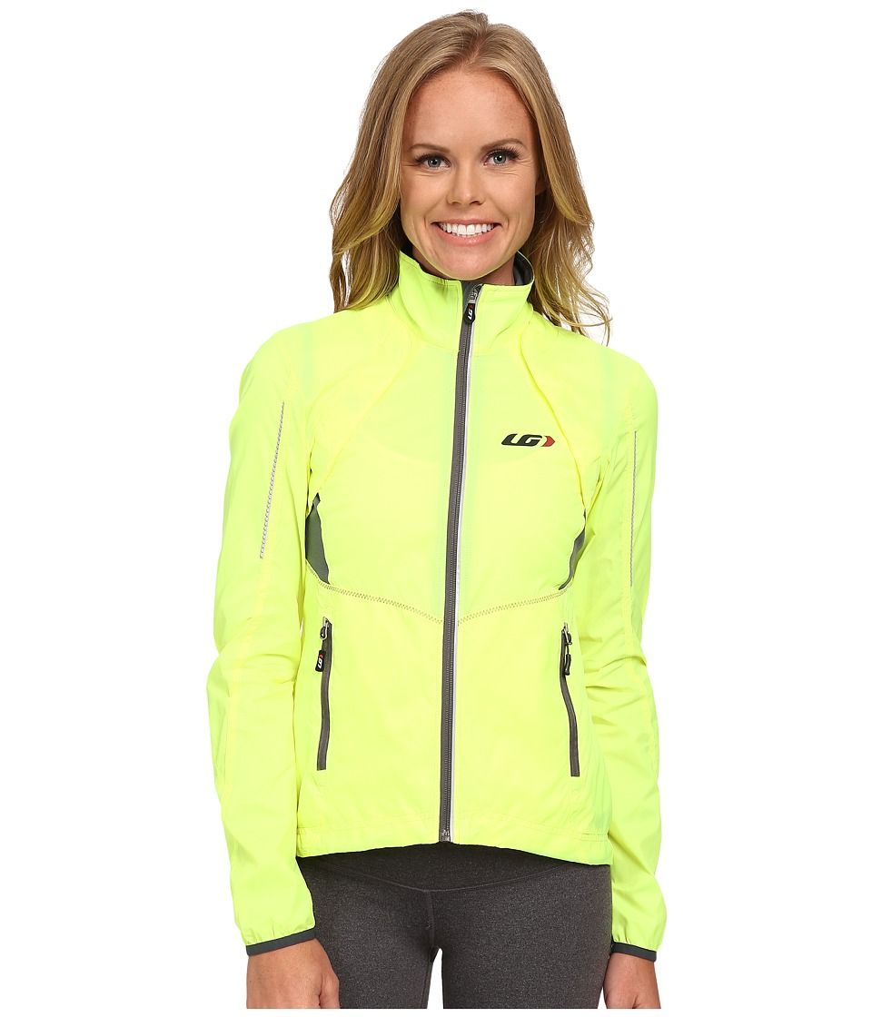 Louis Garneau Cabriolet Jacket Bright Yellow Womens Workout