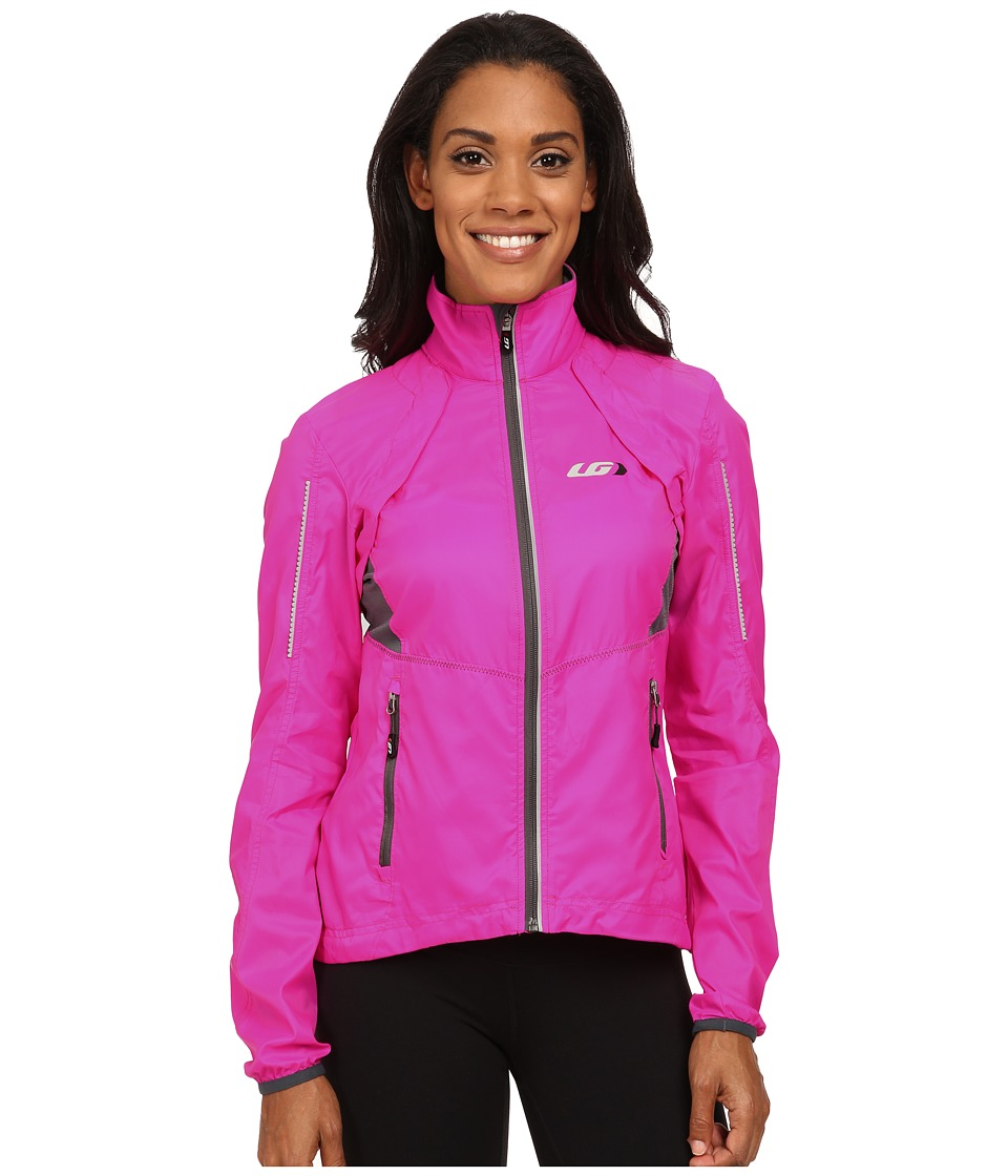 Louis Garneau Cabriolet Jacket Pink Glow Womens Workout