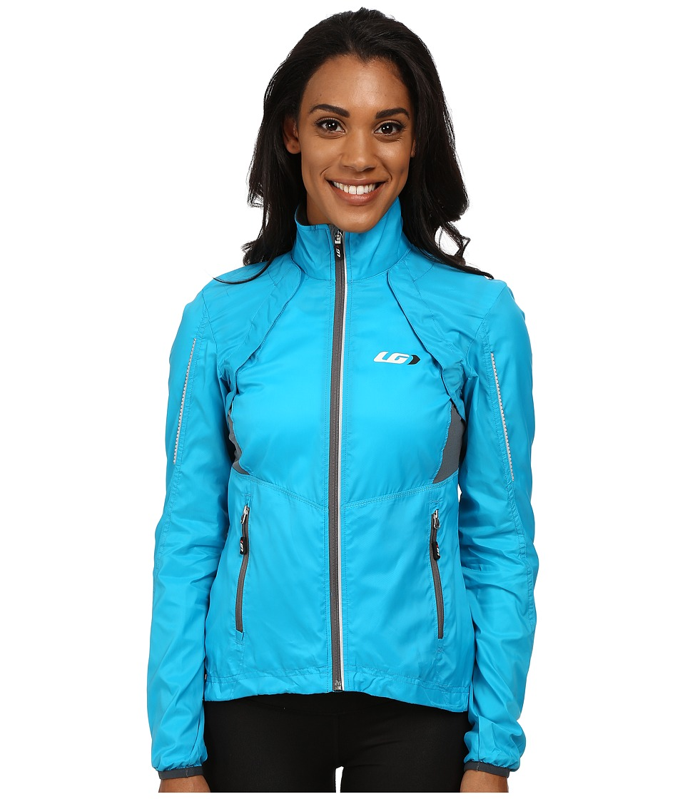 Louis Garneau Cabriolet Jacket Atomic Blue/Blue Womens Workout