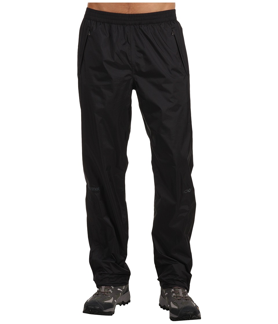 Marmot - PreCip(r) Pant (Black) Mens Outerwear