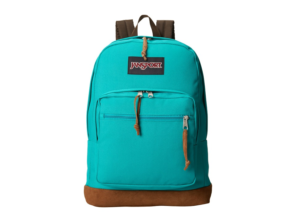 JanSport Right Pack Spanish Teal Backpack Bags