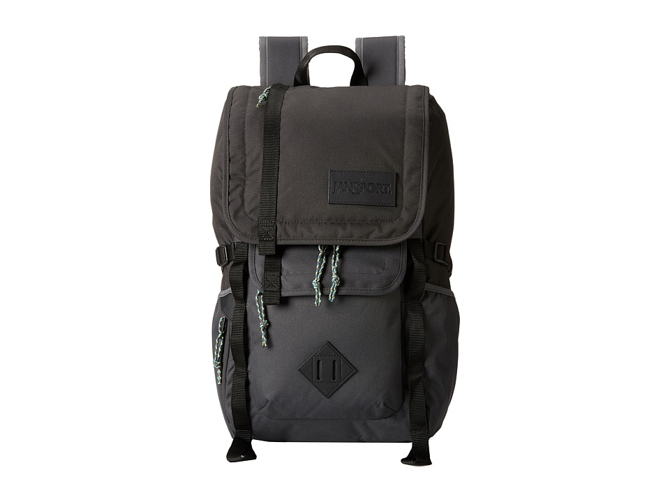 JanSport Hatchet Backpack Grey Tar Backpack Bags