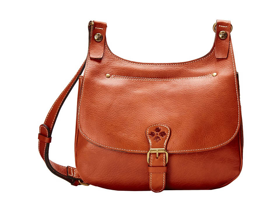 Patricia Nash - London Crossbody (Tan) Cross Body Handbags