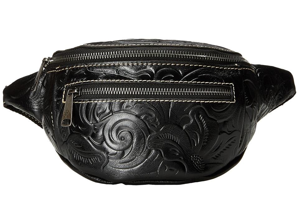 Patricia Nash - Cologne Belt Bag (Black) Bags