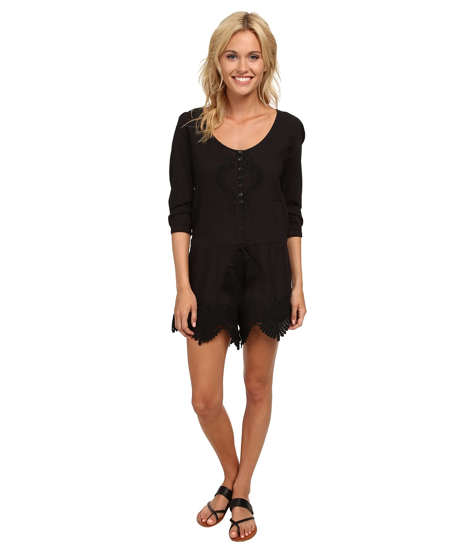 Rip Curl - Modern Love Romper (Black) Women's Jumpsuit & Rompers One Piece
