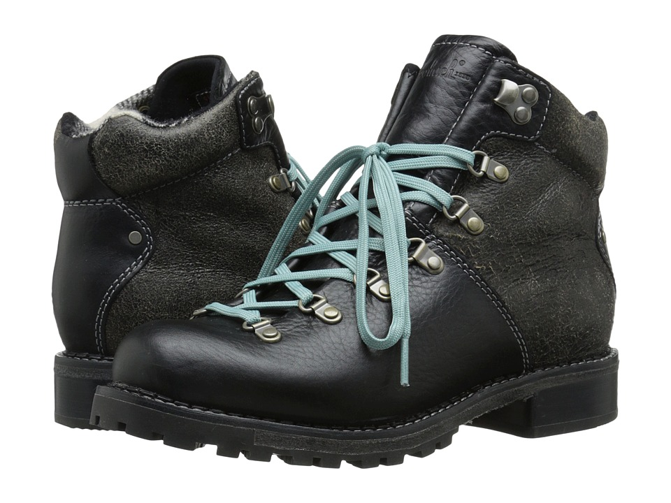Woolrich Rockies (Black Crackle Leather) Women