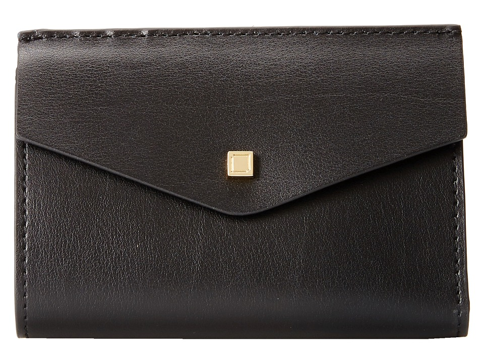 Lodis Accessories - Blair Unlined Rachel French Purse (Black/Cobalt) French Wallet