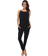 MICHAEL Michael Kors - Chain Neck Peg Leg Jumpsuit