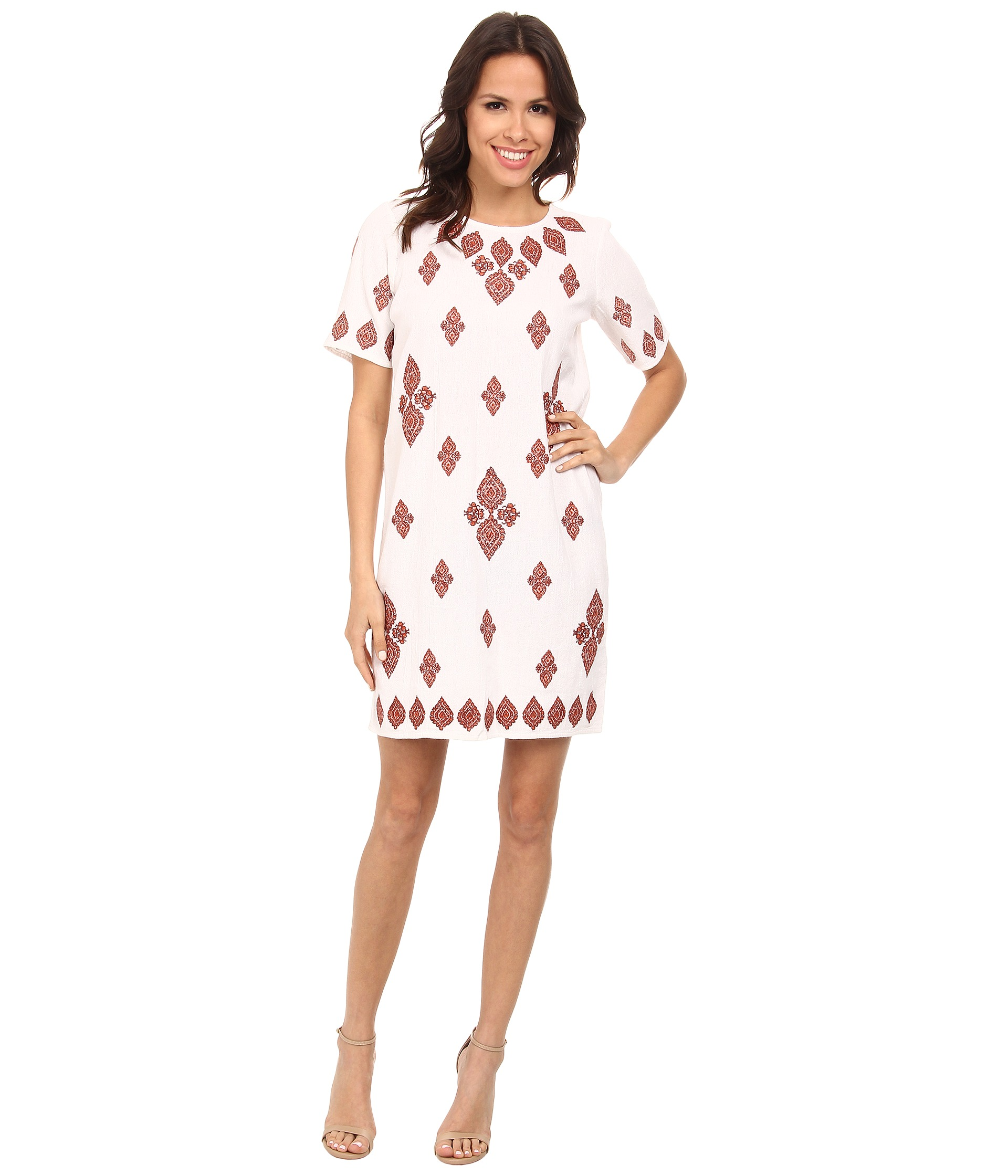 Michael Kors Side Ruched Matte Jersey Dress