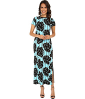 MICHAEL Michael Kors - Tropical Bay Leaf Maxi Dress