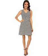 MICHAEL Michael Kors - Vivid YD Stripe Printed Dress