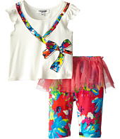 Junior Gaultier - Ribbon Shirt with Skirt and Leggings Set (Infant/Toddler)