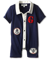 Junior Gaultier - Patched Collared Romper (Infant)