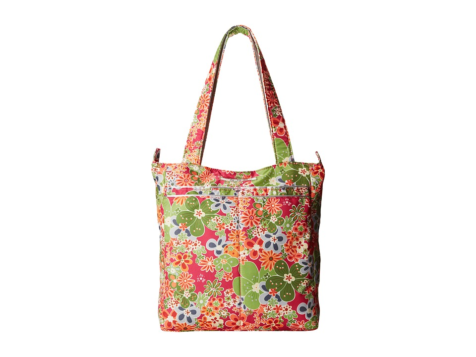Ju Ju Be Be Light Perky Perennials Tote Handbags