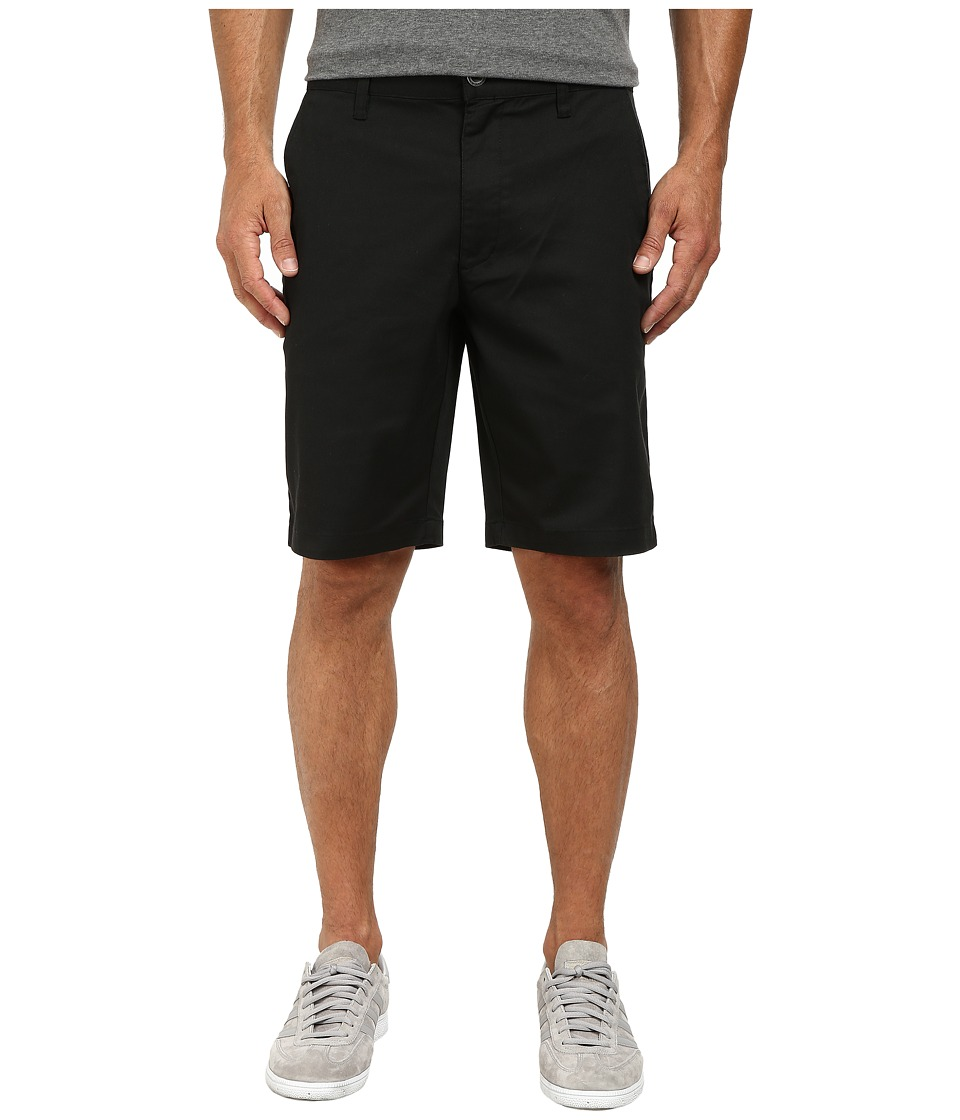 RVCA - The Week-End Stretch Shorts (Black) Mens Shorts