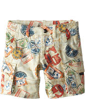 Junior Gaultier - Travel Print Shorts (Toddler/Little Kid)