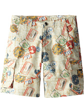 Junior Gaultier - Travel Print Shorts (Big Kid)