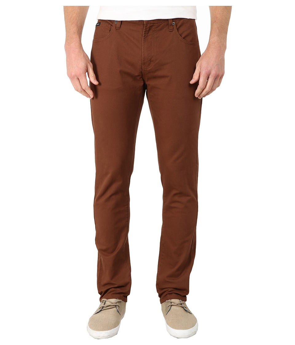 RVCA Daggers Twill Cocoa Mens Casual Pants
