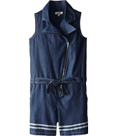 Junior Gaultier - Belted Moto Vest Romper (Big Kid)
