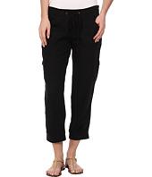 UNIONBAY - Mariana Linen Crop Pants