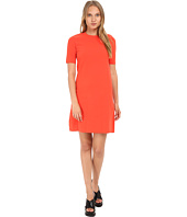 Marc by Marc Jacobs - Scooter Sweater Short Sleeve Dress w/ Shoulder Buttons