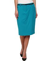 Calvin Klein - Belted Straight Skirt