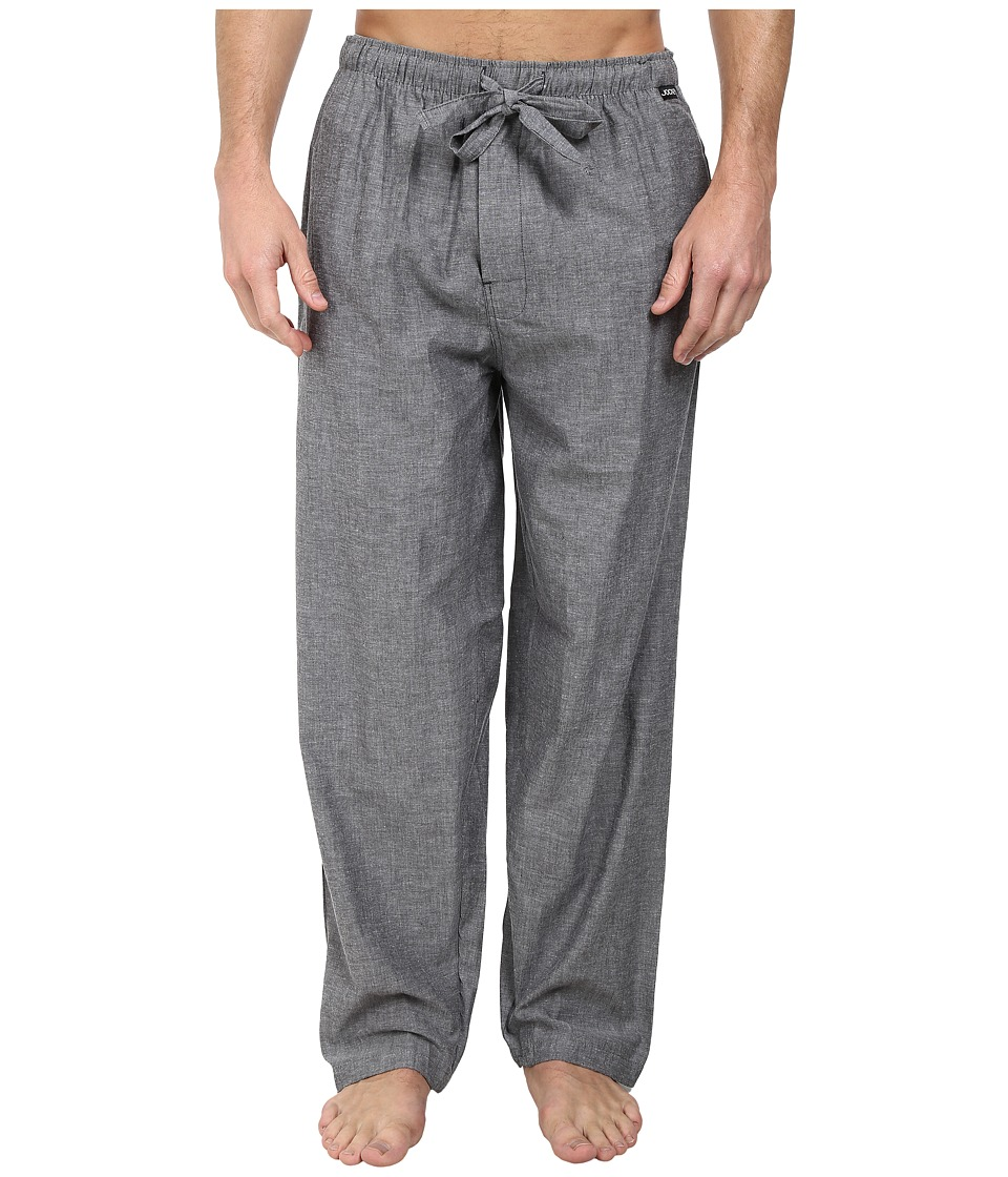 Jockey Chambray Sleep Pants Solid Grey Mens Pajama