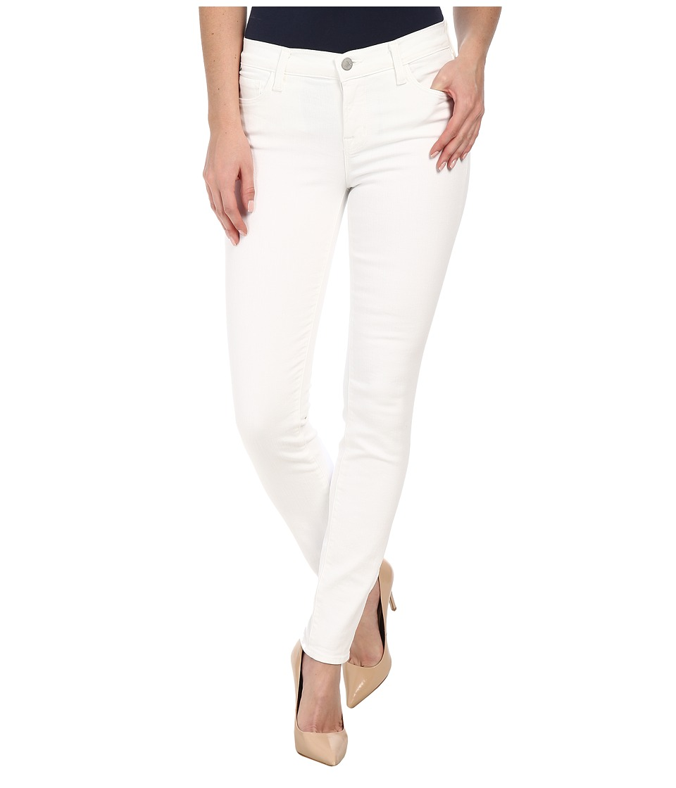 J Brand Mid Rise Skinny in Blanc (Blanc) Women's Jeans