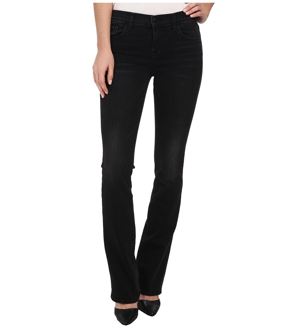 J Brand Betty Mid Rise Bootcut in Denial Denial Womens Jeans