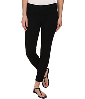 J Brand - Anja Cuffed Sateen Crop in Black