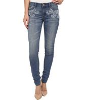 MICHAEL Michael Kors - Paisley Stud Skinny Jeans in Veruschka Wash