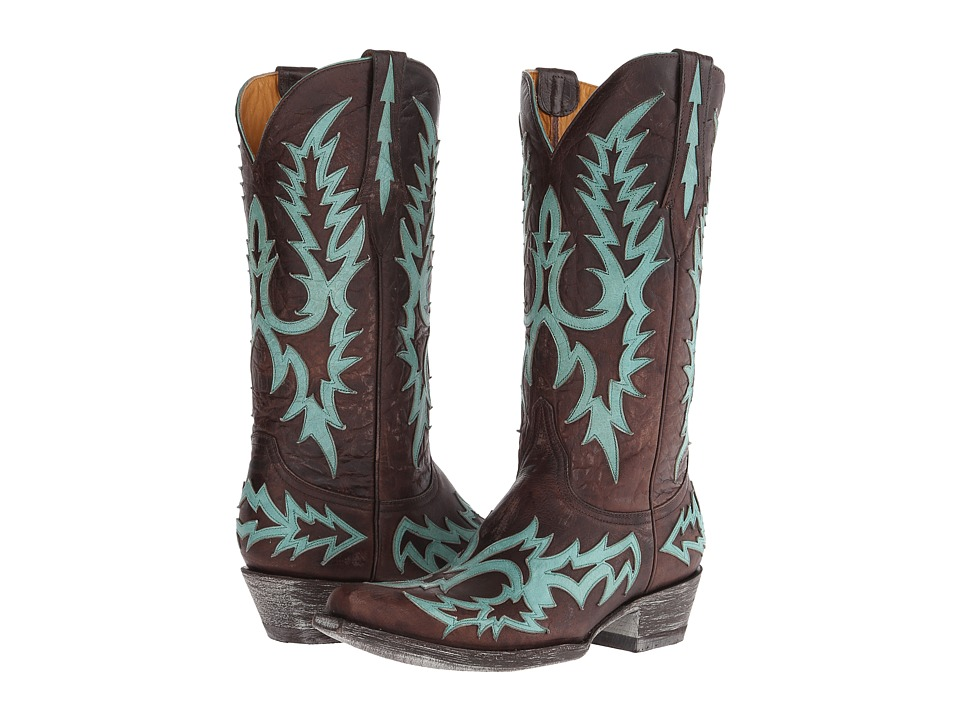 Old Gringo Virginia (Chocolate/Aqua) Women